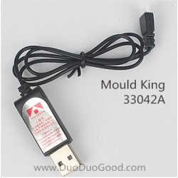 Mould King 33042A Super-A Quadcopter, USB Charger, Model King RC Drone spare parts