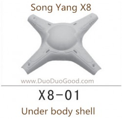 Song Yang X8 Drone, Top Cover, Songyang X8 Quadcopter UFO X8-01 spare parts