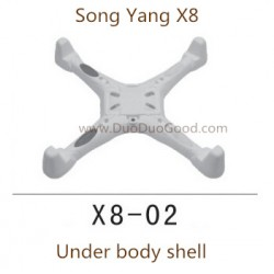 Song Yang X8 Drone, Under Cover, Songyang X8 Quadcopter UFO X8-01 spare parts