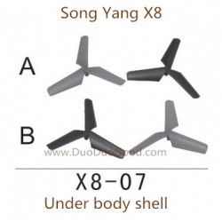 Song Yang X8 Drone, Main Blades, Songyang X8 Quadcopter UFO X8-01 spare parts
