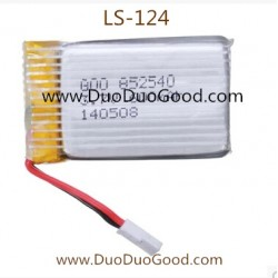Lian Sheng LS-124 Aircaft parts, 3.7V lipo Battery, Liansheng LS124 Quadcopter UFO