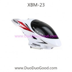T-Smart XBM-23 Helicopter parts, Canopy white, Xiaobaima Xiao bai ma NO.XBM-23 helikopter