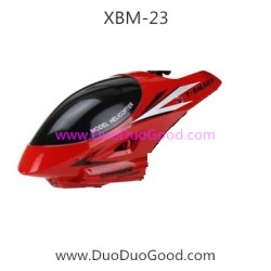 T-Smart XBM-23 Helicopter parts, Head Cover, Xiaobaima Xiao bai ma NO.XBM-23 helikopter