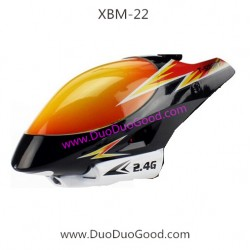 T-smart XBM-22 Helicopter, Head Cover red color, Xiao bai ma 2.4G big RC Helikopter
