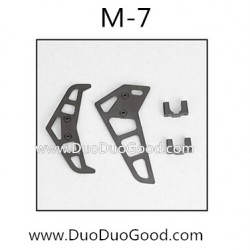 MeiXiang M-7 helicopter parts, Vertical Tail trim, Mei Xian M7 RC helikopter