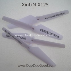 XinLin ShiYe X125 Drone parts, Main Blades, 6-Axis X125 RC Quadcopter