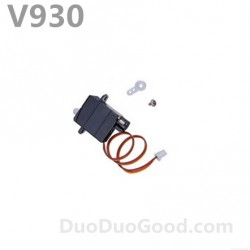 V930 Flybarless helicopter parts, Servo, Wltoys Power star X2 helicopter accessories, wl-toys