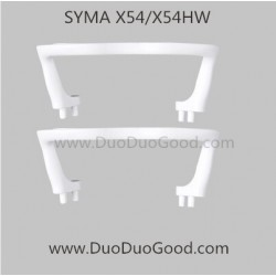 syma x54hw quadcopter landing gear white color