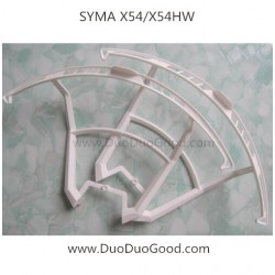 syma x54hw quadcopter protect frame whtie color