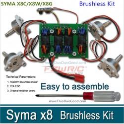 SYMA X8C X8W X8G brushless motor kits drone
