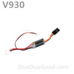 V930 Flybarless helicopter parts, ESC, speed governor, Wltoys Power star X2 helicopter accessories, wl-toys