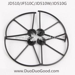 Jin Xing Da JD-510 JD510 JD510W X-Predators Wifi Phone Control Quadcopter, JD510G Drone-Protector