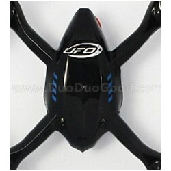 Attop YD-928 sky Dreamer UFO parts, Top Body Shell, Black, Attoptoys YD928 Quadrocopter accessories