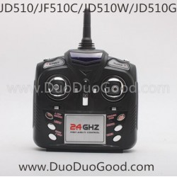 Jin Xing Da JD-510 JD510 JD510W X-Predators Wifi Phone Control Quadcopter, JD510G Drone-Controller