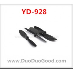 Attop YD-928 sky Dreamer UFO parts, Main Propeller 4pcs, Black, Attoptoys YD928 Quadrocopter accessories