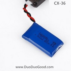 Cheerson CX-36 Glider Drone Parts, 3.7V Battery, CX36 CX36C Quadcopter 2.4G 6-Axis