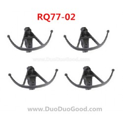 RunQia RQ77-02 UFO parts, Protect Ring Black, Rua Qia toys RC Quadrocopter accessories