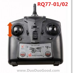 RunQia RQ77-02, RQ77-01 UFO parts, Controller, Rua Qia toys RC Quadrocopter accessories