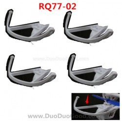 RunQia RQ77-02 Quadrocopter parts, Protect Ring White, Rua Qia toys RC UFO accessories