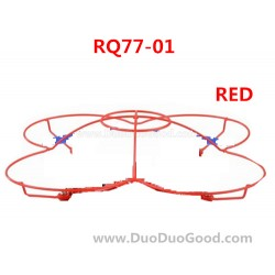 RunQia RQ77-01 UFO parts, Protect Ring Red, Run Qia toys RC Quadrocopter accessories