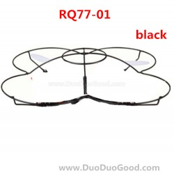 RunQia RQ77-01, Quadrocopter parts, Protect Ring Black, Run Qia toys RC UFO accessories