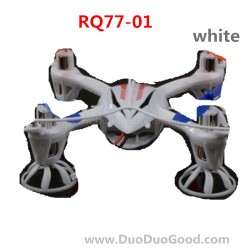 RunQia RQ77-01, Quadrocopter parts, Body Shell, Cover, White, Run Qia toys RC UFO accessories