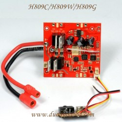Helicute H809C Drone parts, receiver board, H809 High Performance Quadcopter