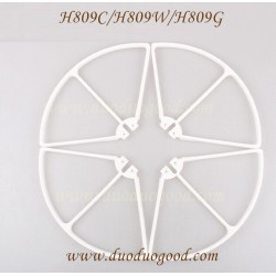Helicute H809C Drone parts, blades guard, H809 High Performance Quadcopter
