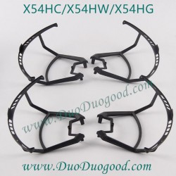 SYMA X54HC Quadcopter Parts, Main Blades Guards, SYMA X54HW WIFI FPV real-time image Drone