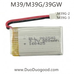 BO MING Toys M39G M39 Quadcopter parts, 3.7v Battery 800mAh, BM M39GW 4 Channel Drone