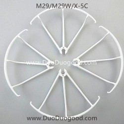 Bo Ming M29 M29W Drone parts, Protector White, BM BoMing X-5C Quadcopter