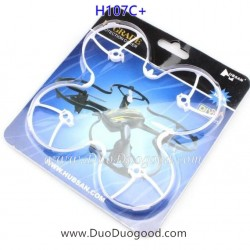 Hubsan H107C+ Drone Parts, Propeller Ring white, X4 CAM Plus Quadcopter