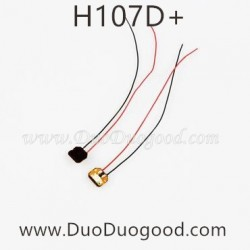 Hubsan H107D+ Drone FPV X4 Plus Parts, LED Light RED, 720P HD Camera Quadcopter