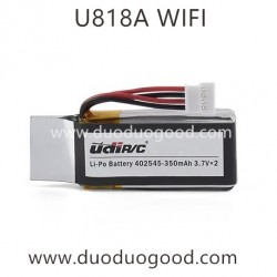 UdiR/C U818A WIFI Quadcopter parts, 350mAh Battery, UDI FPV Drone