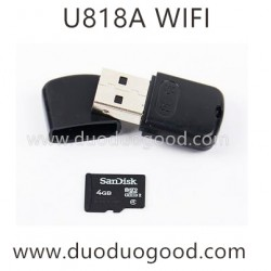 UdiR/C U818A WIFI Quadcopter parts, reader card, UDI FPV Drone
