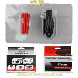 Wltoys V353 Quadrocopter Parts, Bullets hit KIT, WL-model GALAXY V353 UFO 6 axis CF accessories