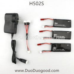 Hubsan H502S GPS Drone parts, Upgrade charger and battery, FPV real-time image Quadcopter