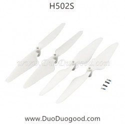 Hubsan H502S GPS Drone parts, Propeller white, FPV real-time image Quadcopter