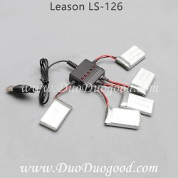Lian Sheng LS-126 Leason Done repair parts, Battery charger, LS-Model LS126 WIFI FPV quadcopter