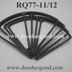 RUNQIA RQ77-11, RQ77-12 Quadcopter Parts, Blades Guards