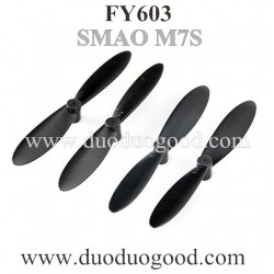 FAYEE FY603 Quadcopter Parts, blades black, Smart EGG SAMO M7S altitude hold