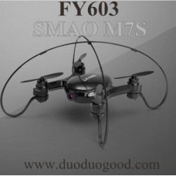 FAYEE FY603 Quadcopter Parts, BODY Black, Smart EGG SAMO M7S altitude hold