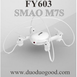 FAYEE FY603 Quadcopter Parts, Main Body BNF white, Smart EGG SAMO M7S altitude hold