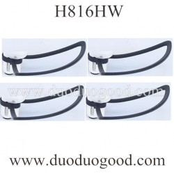 Helicute H816HW WAVE RAZOR Quadcopter Parts, Blades Guards, Throwing Function