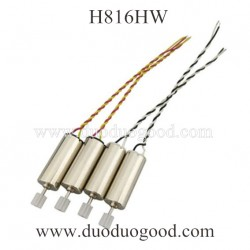 Helicute H816HW WAVE RAZOR Quadcopter Parts, Motor, Throwing Function
