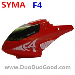 SYMA F4 Helicopter Parts, Head Cover, RED, SM F4 2.4Ghz RC helikopter