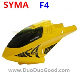 SYMA F4 Helicopter Parts, Head Cover, Yellow, SM F4 2.4Ghz RC helikopter