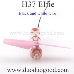 JJRC H37 EIFIE WIFI FPV Quadcopter Parts, Motor Black wire Pink, selfie Pocket drone