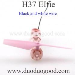 JJRC H37 EIFIE WIFI FPV Quadcopter Parts, Motor Black wire Pink, selfie Pocket drone