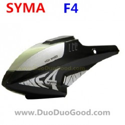 SYMA F4 Helicopter Parts, Head Cover, Canopy Black, SM F4 2.4Ghz RC helikopter